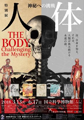 特別展 人体 神秘への挑戦/国立科学博物館